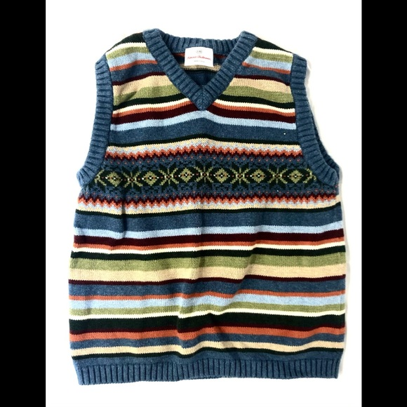 Hanna Andersson Boys Sweater Vest